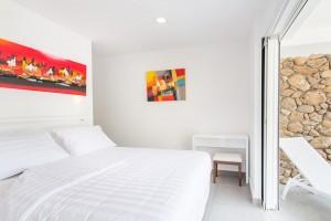 Moorea Appart Hotel chambre appartement jardin